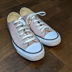 Pink Converse All Star Sneakers